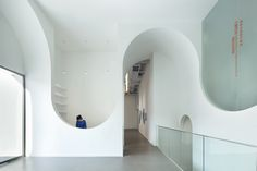 Art Arcadion / Hongkun Art Gallery by chris precht, via Behance