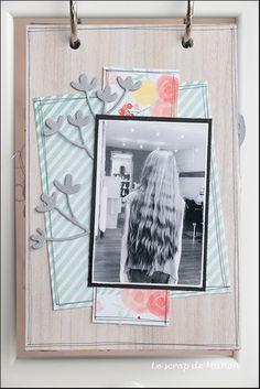 Histoire de cheveux!   MANOUSCRAP Mini Albums, Minis, Scrapbooking, Ikea Frames, Hair, Scrapbooks, Extended Play, Mini Scrapbooks, Memory Books