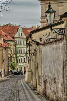 Praga (Praha en checo), capital de la República Checa.