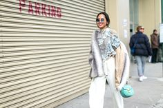 The Best Street Style from New York Fashion Week Aimee Song