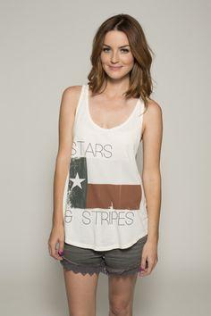Love this Stars & Stripes tank