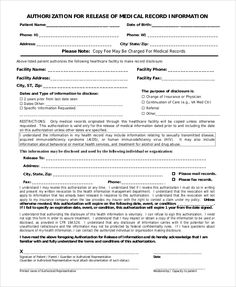 Release Of Medical Record form Elegant Sample Medical Records Release form 9 Examples In Pdf Word Doctors Note, Family Doctors, Form Example, Event Planning Template, Consent Forms, Healthcare Administration, Letter Form, Application Form, Medical Information