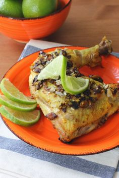 Pumpkin Seed and Lime Chicken from Dog-Gone Good Cuisine by Gayle Pruitt | Fake Food Free