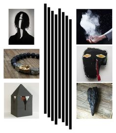 """""""black lines"""" by info-3buu ❤ liked on Polyvore featuring art, Etsyfinds and etsyfresh"""