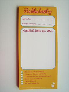 """Telefonnotiz """"Babbelnotiz"""" - Meine Heimat Hessen"""
