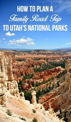 Hit the road and visit all 5 national parks in Utah! A fun family road trip that will help make memories to last a lifetime! Tips and tricks for accommodations, driving route, and other necessities. Utah Vacation, Vacation Spots, Family Road Trips, Family Travel, Summer Road Trips, Family Outing, Road Trip Hacks, Camping Hacks, Camping Trailers