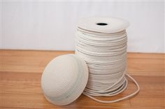 3/16 Cotton Solid Braid - Cord