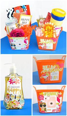 Gift a Bucket of Sunshine to a friend, neighbor, family or teacher!
