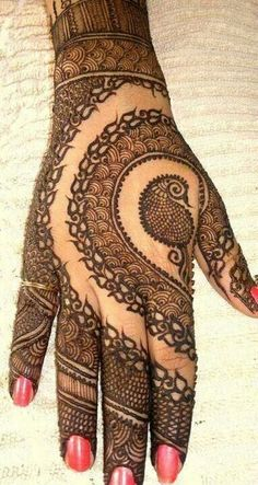 Hina, hina or of any other mehandi designs you want to for your or any other all designs you can see on this page. modern, and mehndi designs Mehandi Designs, New Bridal Mehndi Designs, Peacock Mehndi Designs, Mehndi Patterns, Henna Tattoo Designs, Bridal Henna, Wedding Henna, Mehndi Tattoo, Henna Mehndi