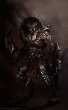 This is awesome my brother had said that werewolf's need armor