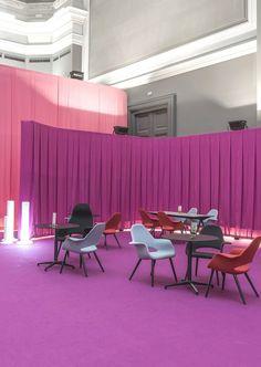 Mobiliario Vitra en el Grand Palais por la arquitecta Teresa Sapey