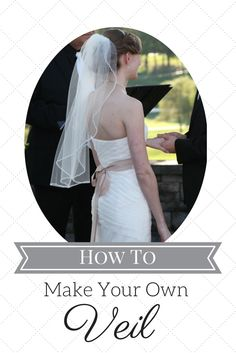 DIY Wedding Veil Tutorial