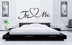 Stickers tête de lit toi et moi