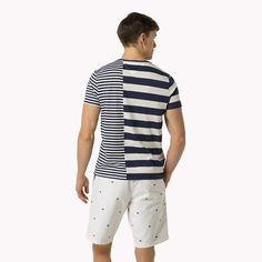 Tommy Hilfiger Striped T-shirt - classic white (White) - Tommy Hilfiger T-Shirts - detail image 1