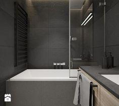 Projekt nr 9 - Mała łazienka, styl nowoczesny - zdjęcie od Ewelina Witkowska Architektura Wnętrz