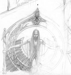 alan_lee_the lord of the rings_sketchbook_04_rivendell04.jpg (1506×1600)