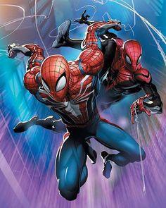 Spider-geddon - Scorpion Comics Clayton Crain NYCC Variant Cover A Marvel Comics Art, Marvel Heroes, Anime Comics, Marvel Avengers, Amazing Spiderman, All Spiderman, Venom Spiderman, Spiderman Kunst, Marshmello Wallpapers