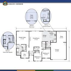 adair homes plan 1192 adairhomes com building a house pinterest