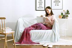 Mermaid Blanket gift for home decor lovers