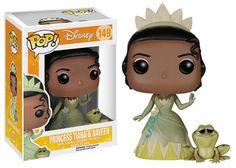 Pop! Disney: The Princess and the Frog - Princess Tiana and Naveen | Funko