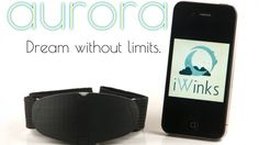 The Aurora headset is a tool for enhancing dreams, signaling the beginning of REM sleep.