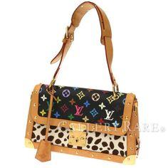 Auth-Louis-Vuitton-Damier-Sack-Dalmatian-Handbag-Unborn-Calf-M92825-GR-1750782