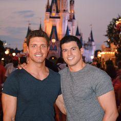Gio Benitez and Tommy DiDario - Cinderella's Castle Walt Disney World