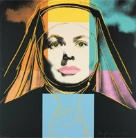 Ingrid Bergman, The Nun by Andy Warhol💰More Pins Like This At FOSTER GINGER @ Pinterest 💰💰💰