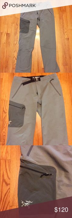 Arcteryx Gama AR Pants These pants are in excellent condition other than a small hole on the lower leg (pic included). The small hole has been repaired with a waterproof adhesive and is almost unnoticeable. Arc'teryx Pants