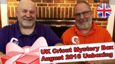 United Kingdom's Cricut Mystery Box - August 2016 Unboxing - http://www.craftsbytwo.com/united-kingdoms-cricut-mystery-box-august-2016-unboxing/  Cricut shared with us the Mystery Box available to our crafty friends in the UNITED KINGDOM! Join us for our unboxing!  On our blog post we give you an easy link to order from and a complete listing of what we received, just click and scroll down past the video. :)