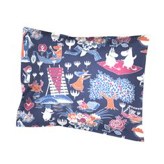 Fall asleep with Moomins! Illustrated with Tove Jansson's original drawings from the Moomin valley. Made by a Finnish company that manufactures high quality fabrics since the 1800s. The primary objective of Finlayson is to give its customers a stylish, soft, allergy friendly and beautiful design in an environmentally responsible and correct...