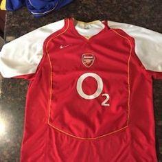 #Portland OR Merchandise / Vintage #Arsenal #Gunners 2004 - 2005 #Nike Home Kit #Jersey Size XL O2 - Geebo