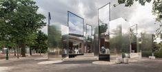 PPAG architects, Wien, Stadtpark, Mimikry, Pavillon, Restaurant, Anbau