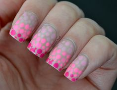 Day 4 - Pink Dotted Gradient
