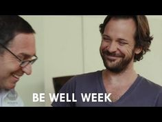 """""""Be Well Week's Dr. Frank Lipman invites actor Peter Sarsgaard to his home to discuss his famous Elimination Diet. Sarsgaard recounts his days of drinking to. Dr Frank Lipman, Peter Sarsgaard, Going Natural, Healthy Cooking, Drinking, Channel, Wellness, Diet, Fitness"""