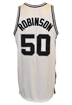 SportsMemorabilia.com -  SportsMemorabilia.com Spurs David Robinson Game  Used 2001- b16c7ccba