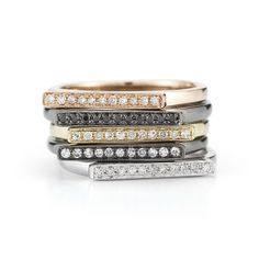 Sylvie Rose Rings by Dana Rebecca Designs