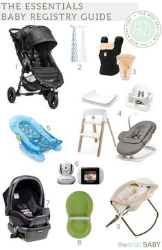 The Essentials Baby Registry Guide Trying the keep the baby gear to a minimum? This registry guide includes just the essentials! Baby Bump Progression, Baby Co, Baby Baby, Baby Announcement Pictures, Getting Ready For Baby, Hilario, Wishes For Baby, New Baby Boys, Everything Baby
