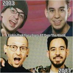 Chester and Mike - ;Linkin Park