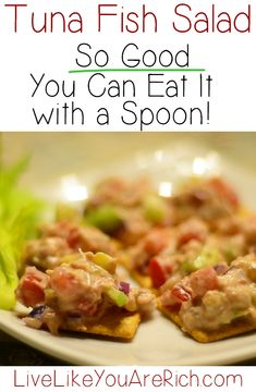 The Best Tuna Salad Recipe-I never knew tuna salad could be so healthy and delicious!