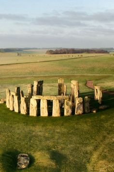 Discoveries in the past decade have revealed more about the people for whom Stonehenge and nearby monuments held great meaning. (Photo: Adam Stanford/Aerial-Cam)