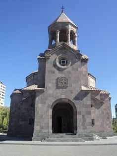 Saint Sarkis Church or Saint Sargis church is an Armenian Apostolic Church in the Nor Nork district of Yerevan, Armenia. The construction of the church began in 1998 and was sponsored by Sarkis Gabrielian, an Armenian benefactor from New York City. The church was built according to the design of the architect Baghdasar Arzoumanian.