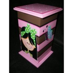 Cajas Decorativas Para Toallas Higienicas
