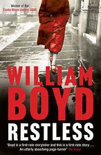 Restless by William Boyd loved this. good strong story. better than any human heart and as good as ordinary thunderstorms!