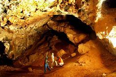 Sterkfontein Caves - Inside the caves. The place of amazing archeological discoveries. Africa Continent, Travel Flights, Archaeological Discoveries, Out Of Africa, African History, Continents, Archaeology, South Africa, Stuff To Do