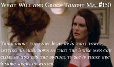 Karen Walker, Will and Grace She was the best part of that show!