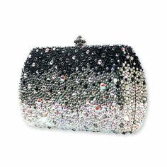 Glam Bling Swarovski Crystal Clutch Bag