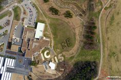 A Pictometry International Corp. shot to liven your day: an aerial of the North Carolina Museum of Art.