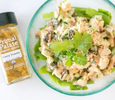 New recipe on Primal Palate today: Curried Chicken Salad!! This is super tasty and very easy to make. Plus it uses our organic Curry Powder. If you haven't tried this spice yet prepare to be blown away by the flavor!  LINK lN PROFlLE  #primalpalatespices