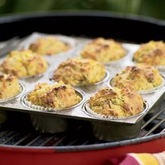 Breaking out the grill is a great way to upgrade a weekend brunch. ...
